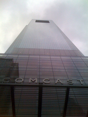 """Comcast Center"" by Flikr user Saturdave used under Creative Commons Attribution 2.0 license"